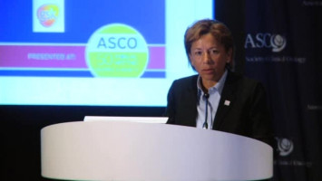 Adding lapatinib to adjuvant trastuzumab does not improve outcomes in early-stage HER2-positive breast cancer ( Dr Edith Perez - Mayo Clinic, Rochester, USA )