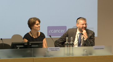 Radiotherapy - what's new? Q & A ( Dr David Landau and Prof Corinne Favire-Finn )
