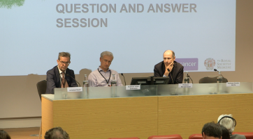 NSCLC biology and new therapies: Q & A ( Prof Downward, Dr Rosell, Prof Seckl )
