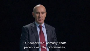 Surgery or radiotherapy for thyroid cancer ( Dr Pyotr Garbuzov - A.F.Tsyb Medical Radiology Research Center, Obninsk, Russia )