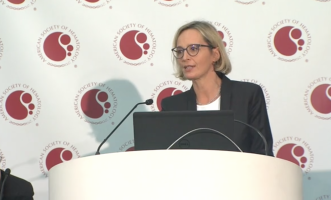 Four cycles of chemotherapy as effective as six for diffuse large B-Cell lymphoma ( Dr Viola Pöschel - Saarland University Medical School, Homburg, Germany )