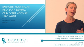 Exercise: How it can help both during and after cancer treatment ( Liz Davis - Cancer Exercise Specialist, London, UK )