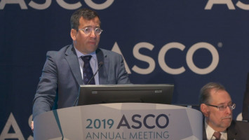 Pembrolizumab is safe and effective and substantially increases overall survival in aNSCLC patients ( Dr Edward B. Garon - UCLA, Los Angeles, USA )