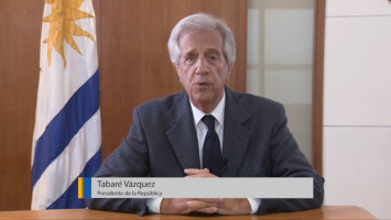 Public policy in the fight against non-communicable diseases ( Dr Tabaré Vazquez - President of Uruguay )