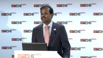 Front-line osimertinib significantly lengthens overall survival in EGFR-mutation positive NSCLC ( Prof Suresh Ramalingam - Winship Cancer Institute of Emory University, Atlanta, USA )