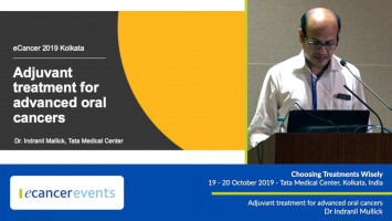 Adjuvant treatment for advanced oral cancers ( Dr Indranil Mallick - Tata Medical Center, Kolkata, India )