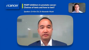 PARP inhibitors in prostate cancer: Choices of tests and how to test? ( Dr Kim Chi and Dr Alexander Wyatt )