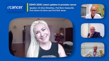 ESMO 2020: Latest updates in prostate cancer ( Dr Eleni Efstathiou, Prof Boris Hadaschik, Prof Johann De Bono and Prof Nick James )