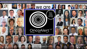OncoAlert and ecancer weekly roundup for September 27 - October 4th, 2020 ( Dr Gil Morgan - Skåne University Hospital in Lund, Sweden )