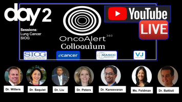 OncoAlert Colloquium Day 2: Lung cancer and SIOG ( Dr Willers, Dr Sequist, Dr Liu, Dr Peters, Dr Kanesvaran, Ms Feldman, Dr Battisti )