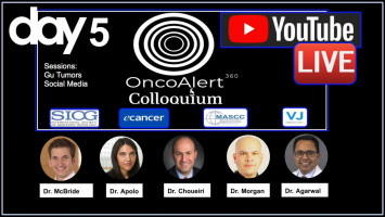 OncoAlert Colloquium Day 5: Genitourinary tumours and social media ( Dr McBride, Dr Apolo, Dr Choueiri, Dr Morgan, Dr Agarwal )