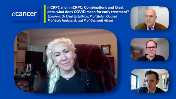 mCRPC and nmCRPC: Combinations and latest data, what does COVID mean for early treatment? ( Dr Eleni Efstathiou, Prof Stefan Oudard Prof Boris Hadaschik and Prof Gerhardt Attard )