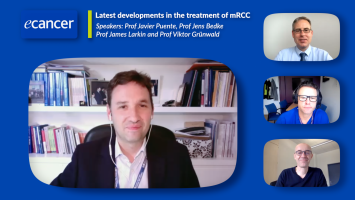 Latest developments in the treatment of mRCC ( Prof Javier Puente, Prof Jens Bedke, Prof James Larkin and Prof Viktor Grünwald )