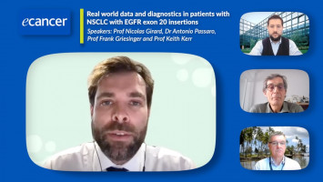Real world data and diagnostics in patients with NSCLC with EGFR exon 20 insertions ( Prof Nicolas Girard, Prof Keith Kerr, Prof Frank Griesinger and Dr Antonio Passaro )
