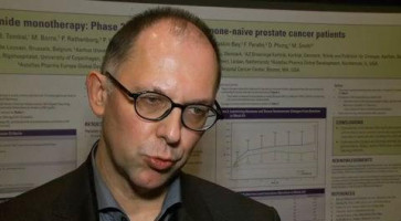 Enzalutamide monotherapy: Phase II study results in patients with hormone-naive prostate cancer ( Dr Bertrand Tombal - Catholic University of Louvain, Belgium )
