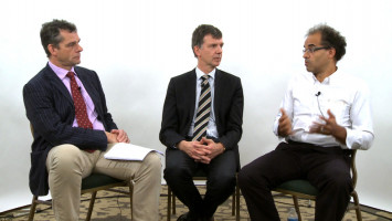 New therapy aspects for myeloid chronic lymphoma ( Dr Simon Rule, Prof Martin Dreyling, Prof Olivier Hermine )