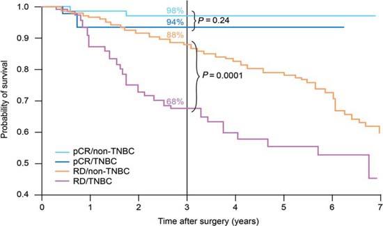 Triple negative breast cancer studies turns